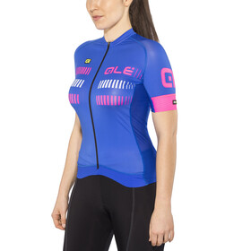 Alé Cycling Graphics PRR Strada Shortsleeve Jersey Dam blue light-fluo pink-white